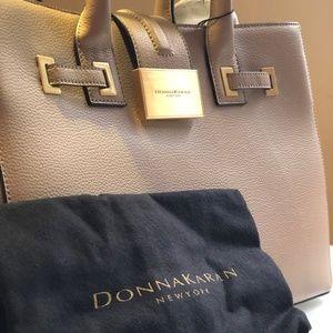 Donna Karan Leather Tote